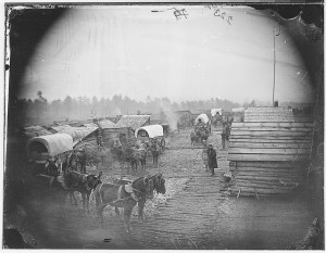 Pioneer Days. Photo from US National Archives