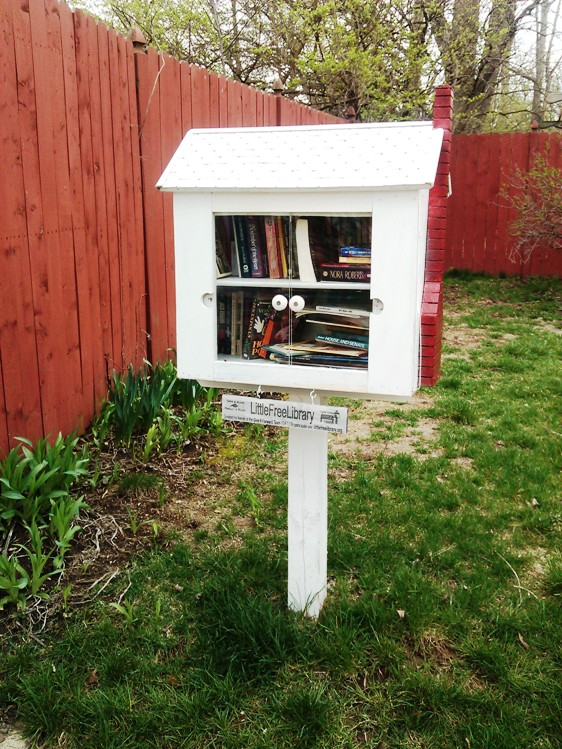 Little Free Library in my neighborhood