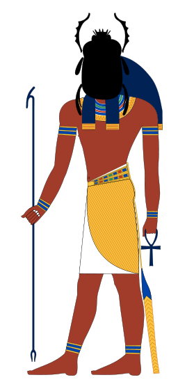 Khepri, by Jeff Dahl via Wikimedia Commons
