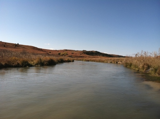 Dismal River, Nebraska Sandhills. Photo by USFWS Mountain Prairie, via Wikimedia Commons