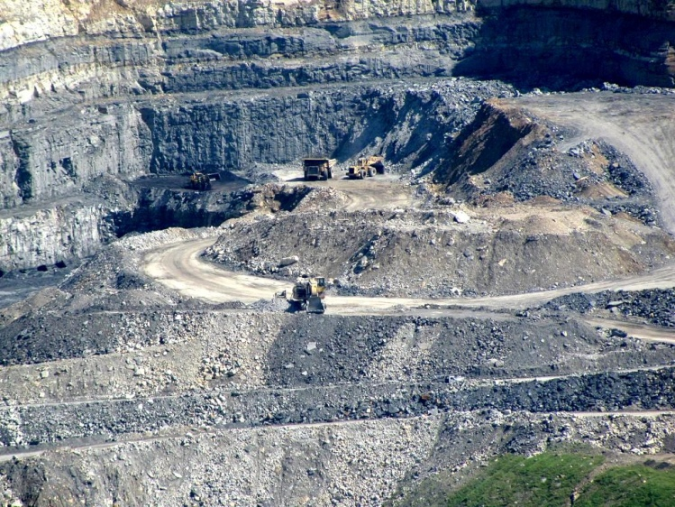 Mountaintop Removal, Wise County, VA, via flickr Commons. Photo by David Hoffman