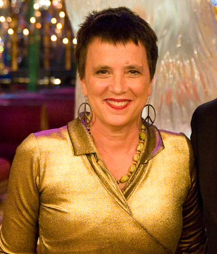 Photo of Eve Ensler by Justin Hoch, via Wikimedia Commons