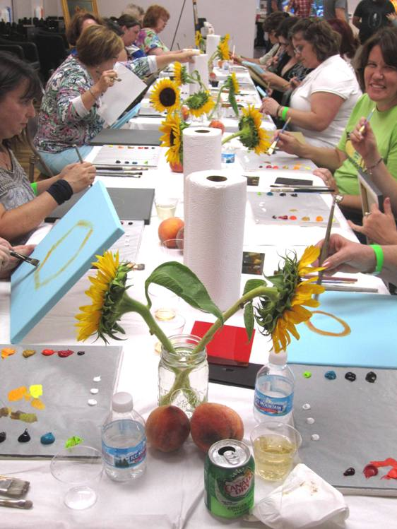Oil painters-in-the-making